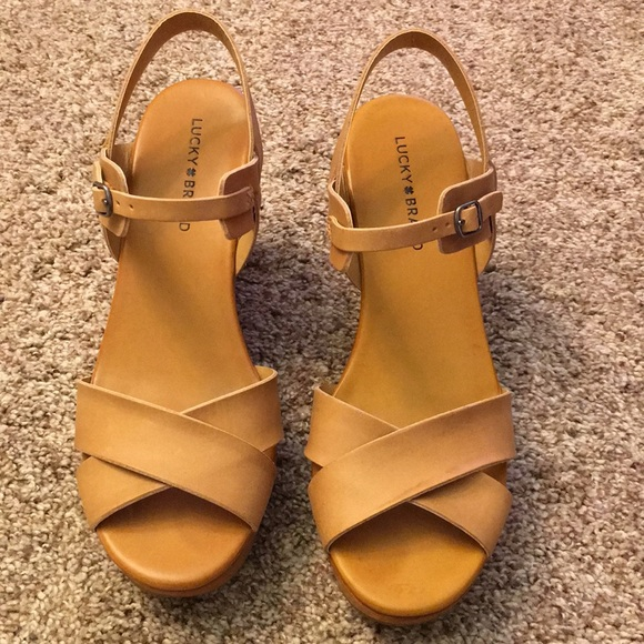 Lucky Brand Shoes - Lucky Brand Modille wedge sandals.